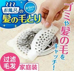 Bathroom floor drain filter Disposable toilet drain sewer hair hair anti-clogging stickers