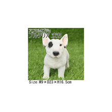 Animal Object Bull Terrier Puppy Stand QY-61