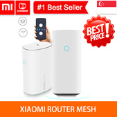 💖LOCAL SELLER💖[Xiaomi Router Mesh]4 Core CPU 256MB 2.4GHz/5GHz Gigabit Power Max 3 Repeater Networ