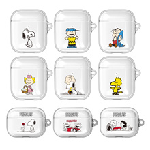 AuthenticSnoopy Clear Airpods Pro 2 1 Hard Case / Apple Cover
