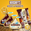 CUCI GUDAAANGG ( Buy 1 Get 1 Free) Get 48 pcs - Hersheys Nuggets n  Kisses