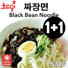 [1+1] Black Bean Noodle (JaJangMyeon) 짜장면 - Authentic Korean Home-made taste