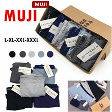 MUJI MEN UNDERWEAR BOXER men shorts comfortable wear soft  Breathable wear