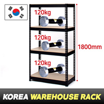 [800*1800 $29.9]★Boltless Rack★Made in KOREA★4Tier★No bolts★Easy assembly★Storage★Warehouse