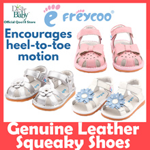 [GENUINE LEATHER] Freycoo Squeaky Shoes ❤ Perfect for Toddlers ❤ For New and Advanced Walker