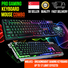 ★PRO Gaming Keyboard★Silent♠Multi-Color LED Backlight♠Anti-Ghosting♠Water Resistant♠ONGOING PROMO!