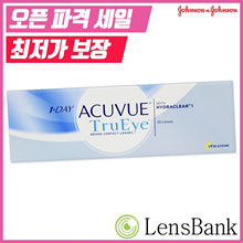 One day Acube true eye / Johnson & Johnson / 1 day / disposable / daily / myopia / contact lens / 30 lens / 1 box