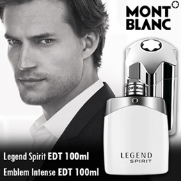 ► MONT BLANC ►Legend Spirit EDT 100ml**Individuel EDT 75 ► Emblem Intense EDT 100ml ► For Him ►