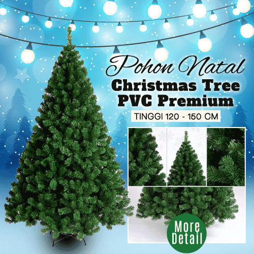 Pohon Natal Christmas Tree PVC Premium Deals for only Rp698.000 instead of Rp698.000
