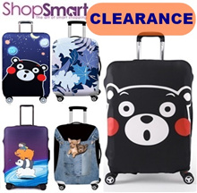 CLEARANCE SALE**Thick Elastic Luggage Cover/Left and Right Opening/Luggage Protector