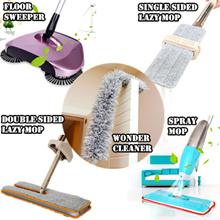 5 DESIGNS-Wonder Cleaner/Microfiber Spray Mop/handfree lazy mop/Floor Sweeper/Hand propelled sweeper