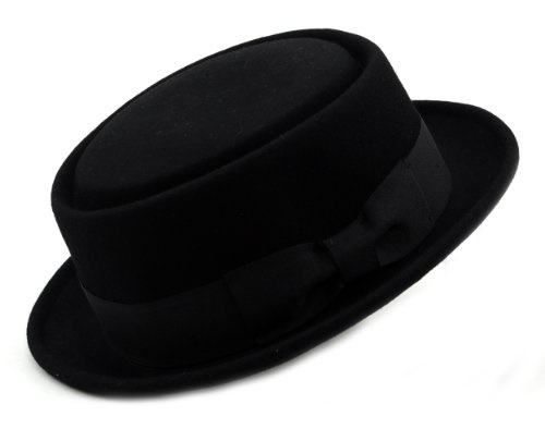 667ef44f57c08 fit to viewer. prev next. ▷ 1 Shop Coupon◁ NYFASHION101 Mens Crushable Wool  Felt Porkpie Hat w Feather