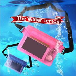 Waterproof Waist Pouch Women Men Dry Waist Bag Beach Swimming Camera Phone Cover Holder Pouch Case