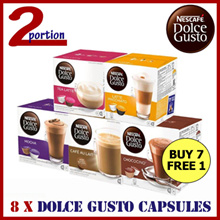 [USE COUPON] 8 Boxes of NESCAFÉ® Dolce Gusto® Capsules (Assorted)