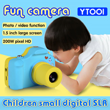 "Cartoon Kids Children Digital Camera Toy Camera 1.5"" LCD Mini Camera Children Day Gifts"