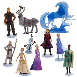 어린이날 선물준비! 디즈니 디럭스 피규어세트 2종 겨울왕국2 토이스토리4 엘사안나 한스 올라프 노크