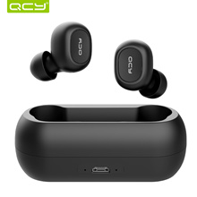 QCY T1C BT 5.0 TWS Earbuds True Wireless Music Headphones with Mic
