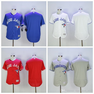 innovative design 946d5 1159c Toronto Blue Jays Baseball Jerseys Blank Personalized Jersey Stitched Any  Name and Number Flexbase C