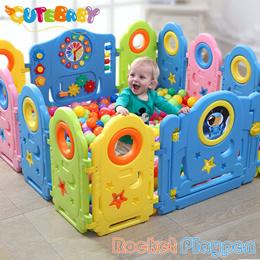 2018 DIY Baby Playpen Kids Safety Play Center/play pen//play yard/playyard/rocket/little bear/Forest