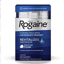 Mens Rogaine Hair Loss  Hair Thinning Treatment