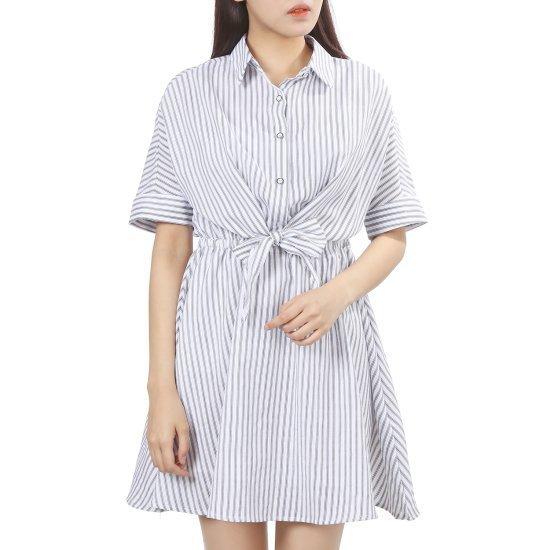 ラブLAPの前リボンOPSAH2WO656 面ワンピース/ 韓国ファッション