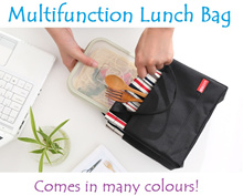 [FREE SHIPPING]🍴Good Quality and stylish Lunch Bag🍴IMPORT FROM KOREA🍴MANY COLOURS TO CHOOSE FROM!