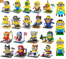 Cute Minion/Minions/Despicable me Loz Nano/Diamond Block Figure [Birthday Gift] [21 opt]