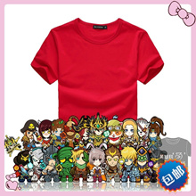 Red shirt short sleeves cartoon t-shirt game League of legends LOL shirt t shirt package mail