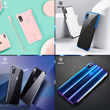 💎Baseus Official Store💎Baseus Case For iPhone Xs Xr Xs Max 18 Full Coverage Protective Soft Silico