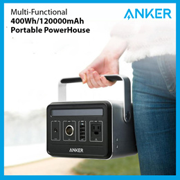 Anker PowerHouse 400Wh / 120000mAh Portable Generator Alternative Rechargeable Power 100% Authentic