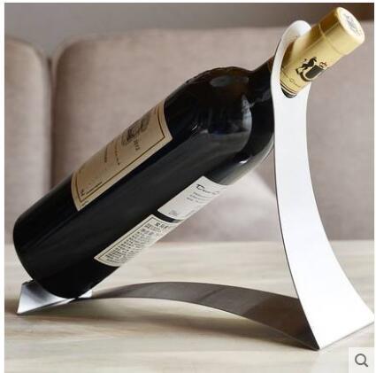 Qoo10 Stainless Steel Wine Rack Creative Wine Rack European Wine Racks Fashi Jewelry Access