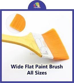 Nylon Bristle Paint Brush with Wooden Handle
