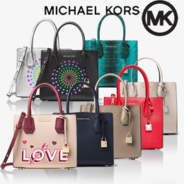 [Michael Kors] Mercer Medium Messenger/Official Genuine Products Shipped from USA