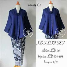 Stelan Kebaya Minnie Women's Maxi Blouse and Skirt Tops