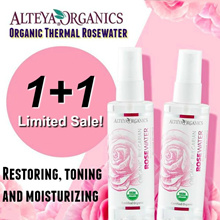 1+1 SPECIALS 🌸 [AWARD WINNING] ORGANIC THERMAL ROSEWATER [ALTEYA] USDA CERTIFIED ORGANIC