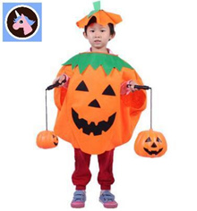 Lin Fang 140g Halloween pumpkin festival dress up childrens pumpkin clothing pumpkin hat pumpkin pum