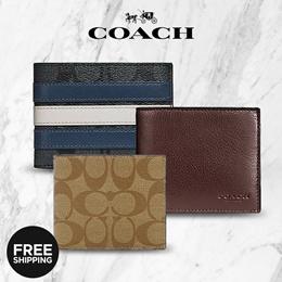 [100% Aᴜᴛʜᴇɴᴛɪᴄ ✔]   LOCAL STOCK   Coach   Michael Kors   Mens Leather Billfold Wallet Card Holder