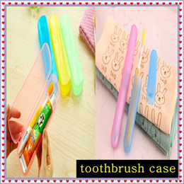 different sizes toothbrush holder/ box case for travel/holiday/can also use as pencil box or small