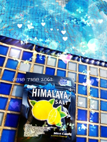 Lemon Mint Candies with Himalaya Salt SJ0252
