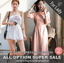 ♥Buy Get Free Gift♥18th Update ♥Korean Style♥ Linen / Casual Dress / LOOSE Fit  / Basic / Plus Size