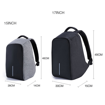 48837e09c5 KALIDI 17.3 inch Waterproof Laptop Bag Men Notebook School bag 15.6 inch  Laptop Backpack USB Chargi