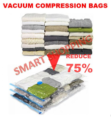Vacuum Storage Bags Box Save Space 80% compression air tight manual pump Travel Travelling compresse