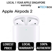 [SG Seller]★ Apple AirPods Gen 2 2019 READY STOCKS! Wireless Bluetooth★ 1 YEAR APPLE SG WARRANTY
