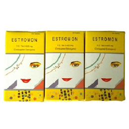 3 BOX × ESTROMON 0.625mg Total 300 Tablets -  ESTROGEN - Woman Hormone - Menopause -