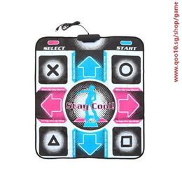 HD Non-Slip Dancing Step Dance Mat Pad Pads Dancer Blanket Fitness Equipment Revolution Foot Print M