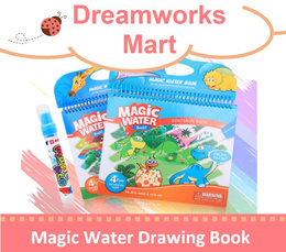 [Bundle of 2] Magic Water Drawing/Coloring Book | Available in 7 Diff Design Ready Stocks