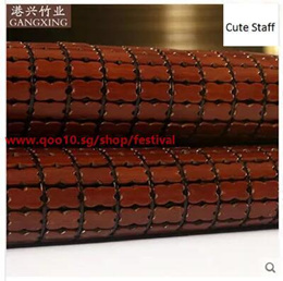 Mahjong seats bamboo mat mahjong mat carbonized bamboo chopsticks can be folded 1.5m1.8 m 1.2 double
