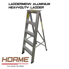 [LADDERMENN] ALUMINIUM HEAVYDUTY LADDER (3-10 Steps)