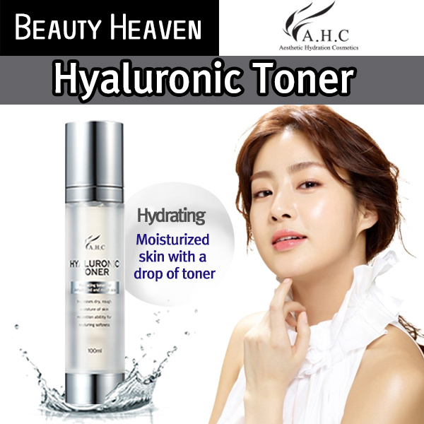 A.H.C Skin Care/Toners/Hyaluronic Toner/100ml/MADE IN KOREA Deals for only S$40 instead of S$0