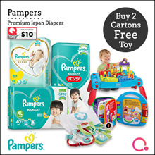 [PnG] Buy 2 Free Toys Baby Dry Diapers Pants / Diapers / Premium Care Diapers
